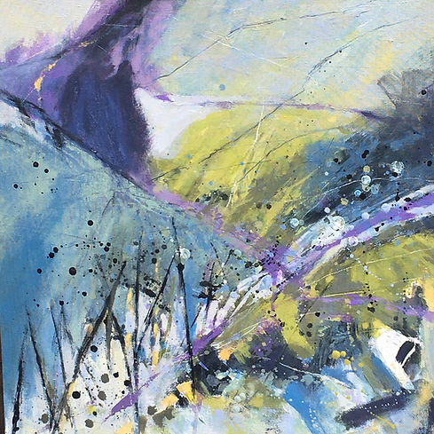 Annabel Eley UK artist painting Raven To