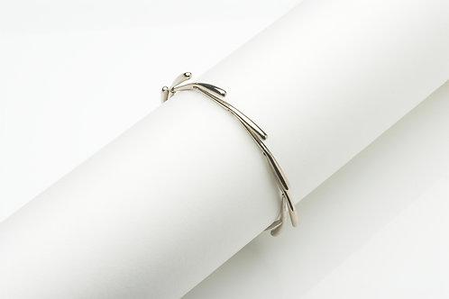 Fringe Bracelet - White Gold