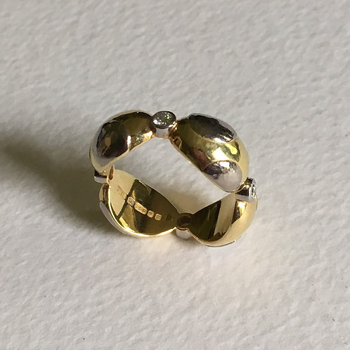 Polka Quadrant ring