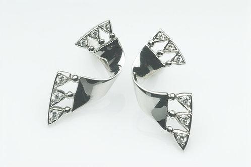 Sash earrings