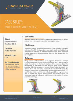 Case Study - Discrete Element Modelling-