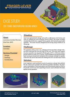 Case Study - 100T Underground Rigging Wi