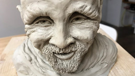 Old Wise Man from Muche Sculpture
