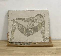 Rear or back side...how is she dancing for you, from Muche Sculpture