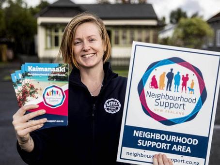 Data key to community security, says Neighbourhood Support organiser