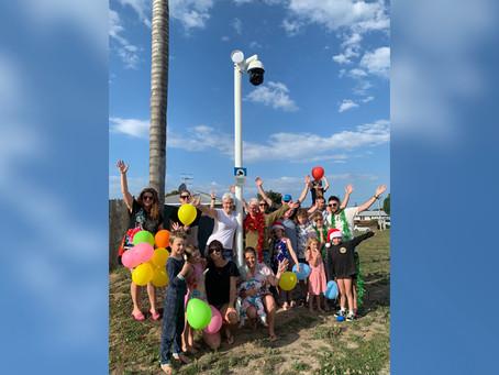 Community celebrates a win
