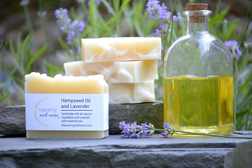 Hemp Seed Oil and Lavender Soap