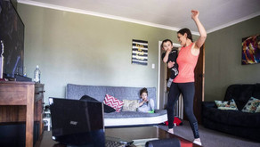 Live-streamed dance fitness classes keeping people active inside their bubbles
