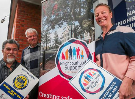 Napier Neighbourhood Support group's new look and approach