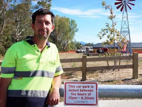 Marlborough 'gate crew' lock up notorious car park