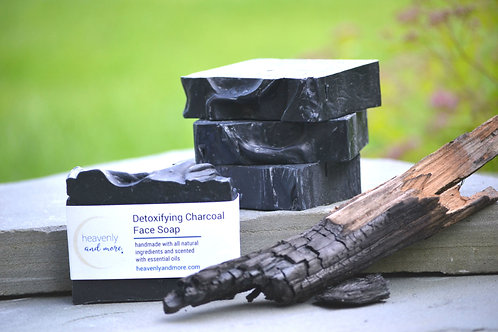 Detoxifying Charcoal Face Soap