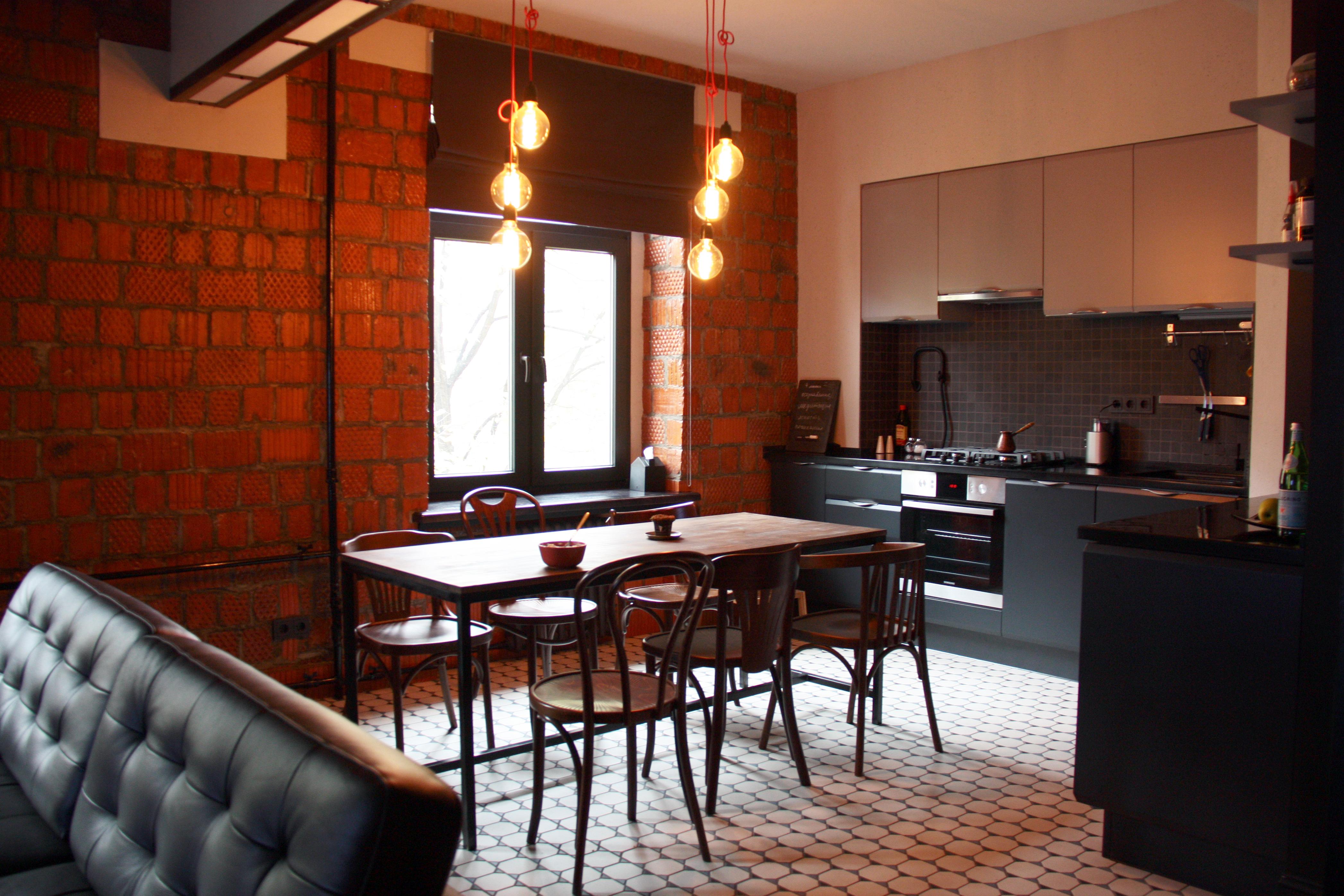 дизайн интерьера мужской квартиры