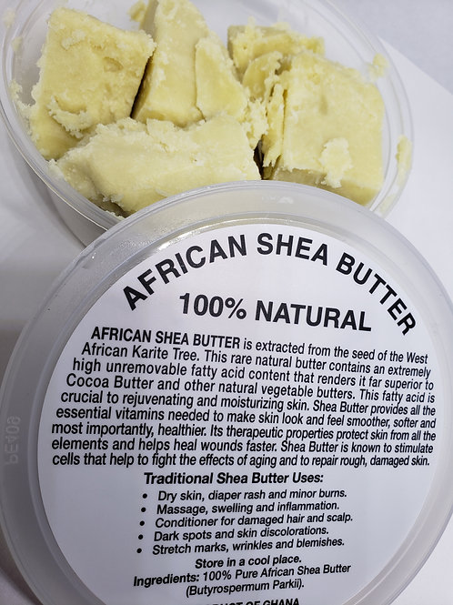 White Raw African Shea Butter