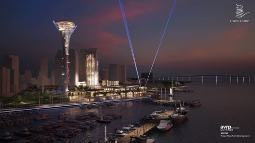 San Diego Original Skyspire Concept