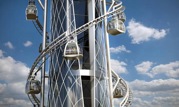 Skyspire Gondola Artist Concept