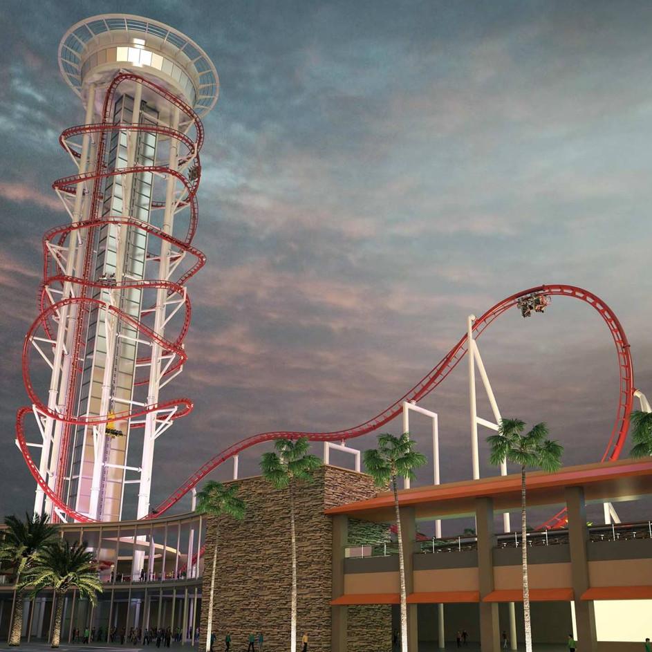 Skyscraper at Skyplex - Design Concept