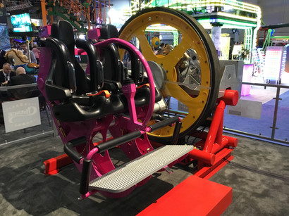 Unicoaster 2.0 Prototype Seat from IAAPA