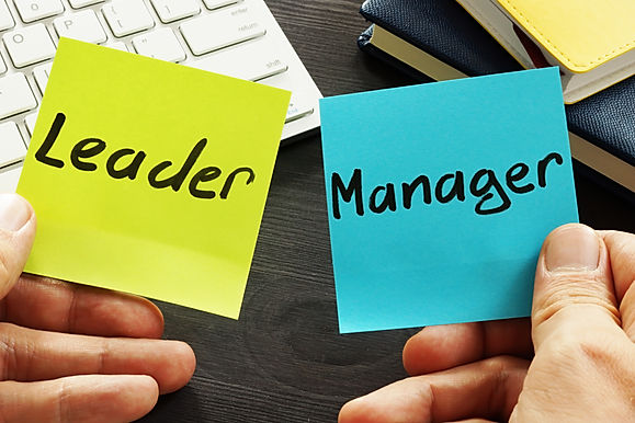 Managers verses Leaders