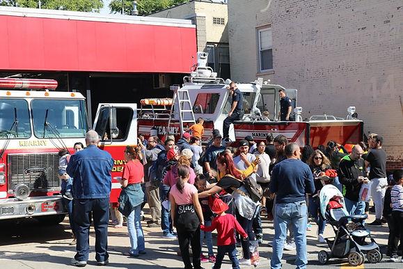 Firehouse Tours for Children