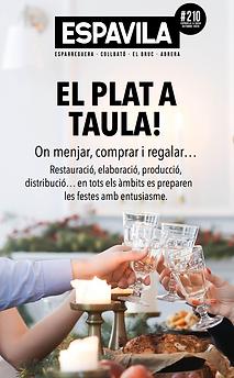 «El Plat a Taula» 12/2020