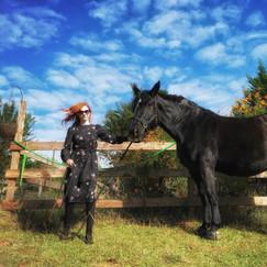 Zoe Simone Del Fino with Noble