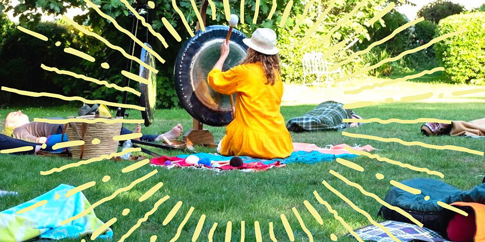 Summer Solstice Gong Sound Celebration at Vale Square Ramsgate