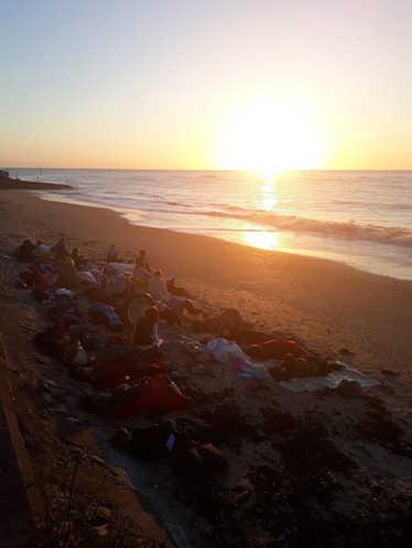 Summer Solstice Gong Bath The Sun Deck Margate 2018