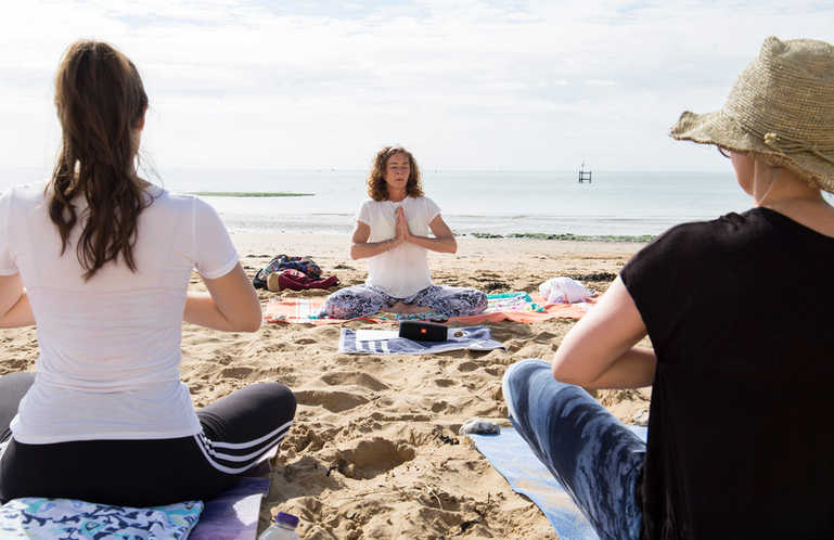 Yoga on the Beach 2018
