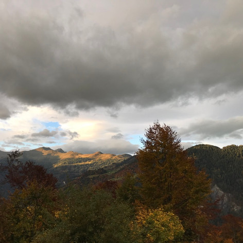 autumne in the swiss mountains