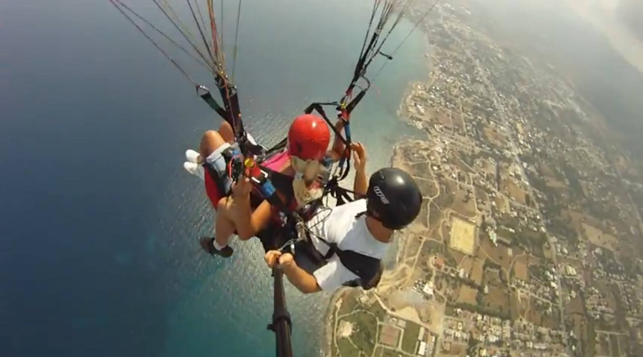 Paragliding in Northern Cyprus