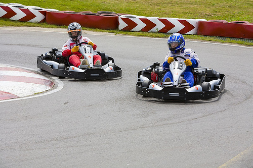 North Cyprus go-carting