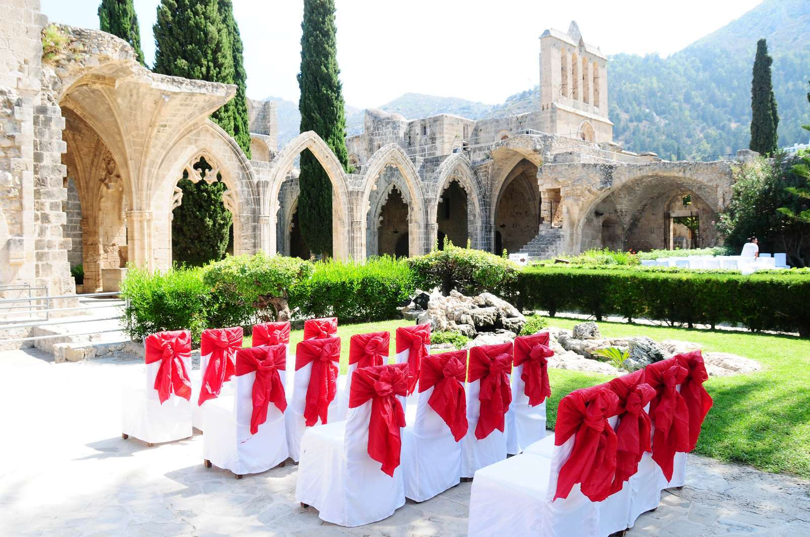 Historical Abbey Wedding