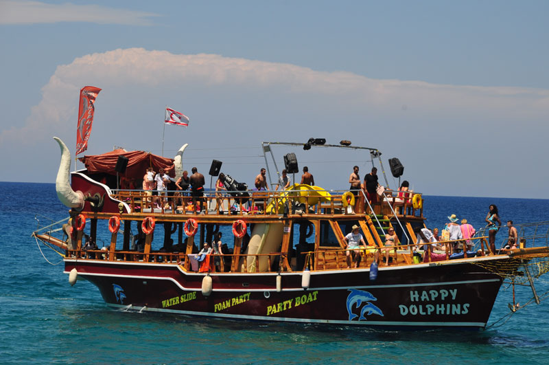 North Cyprus Party Boats