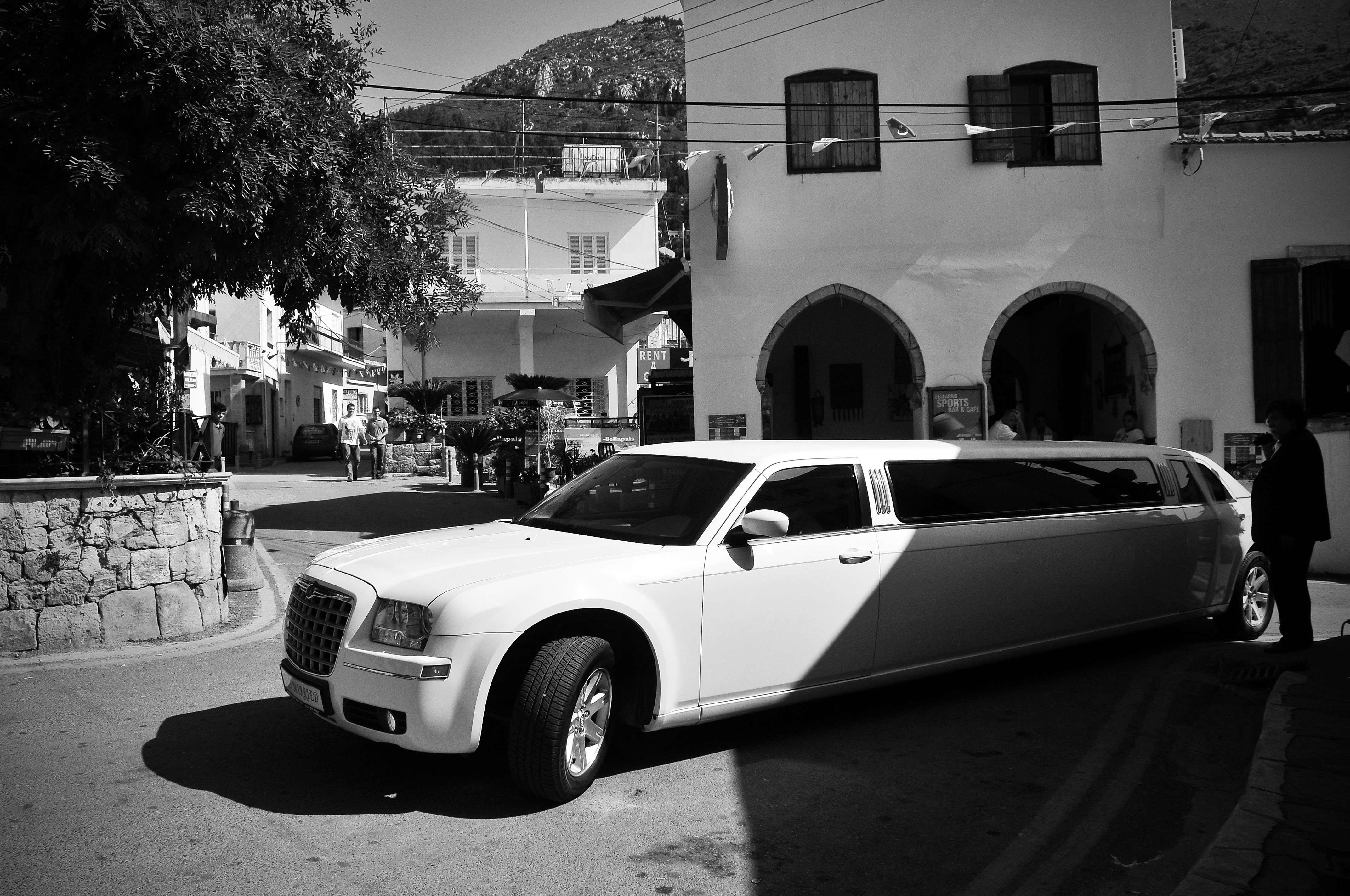 Chrysler limo Wedding Car