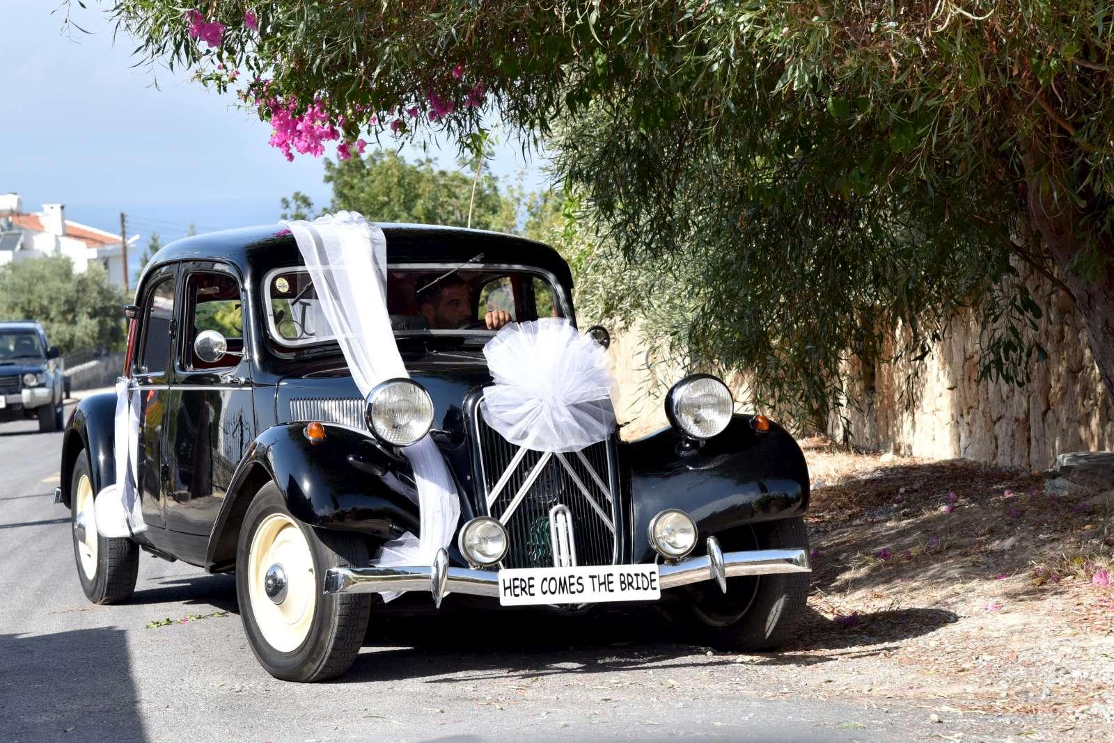 Citroen Wedding Car