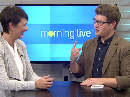 Virtual Magician on CHCH Morning Live