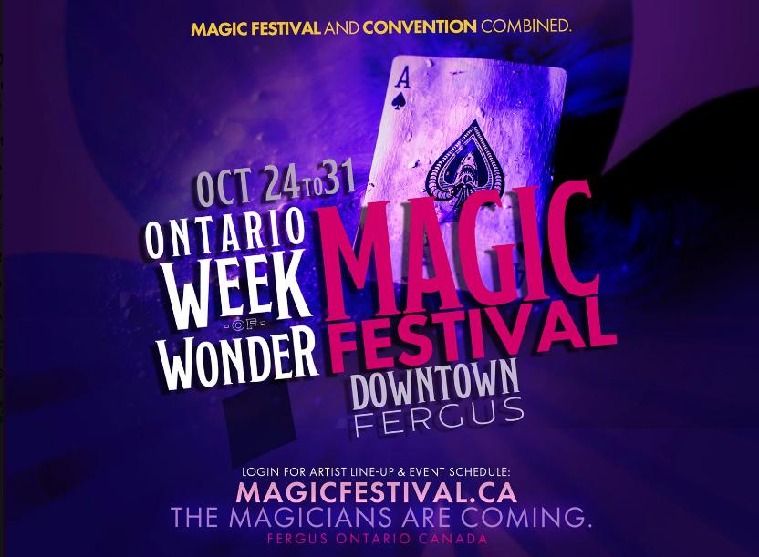 Ontario Week of Wonder Magic Festival