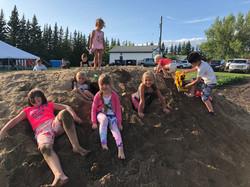 Fun in the sandpile