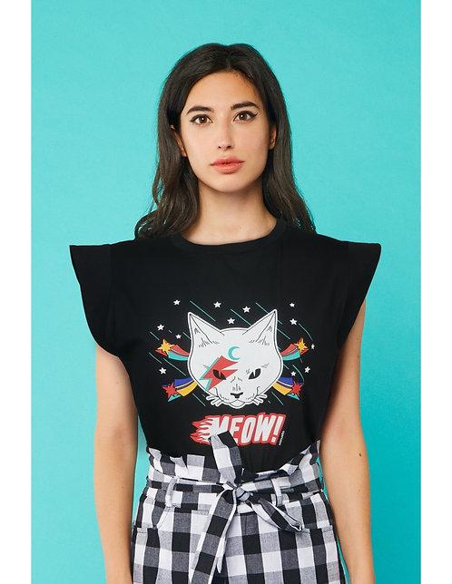 Camiseta Rock Cat