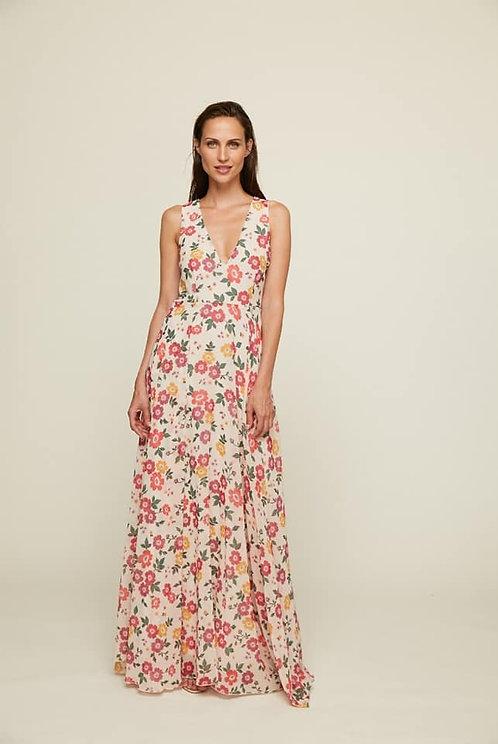 Vestido Eden Flores