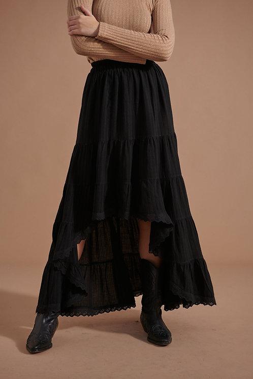 Falda Asia Negra