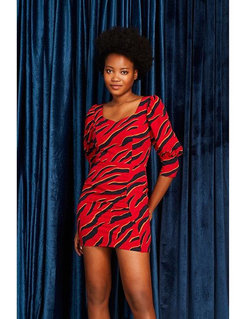 Vestido Red Tiger