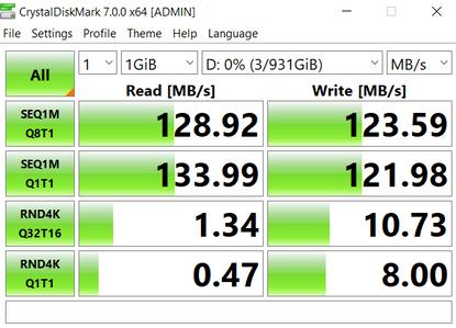 1TB HDD 5400 rpm