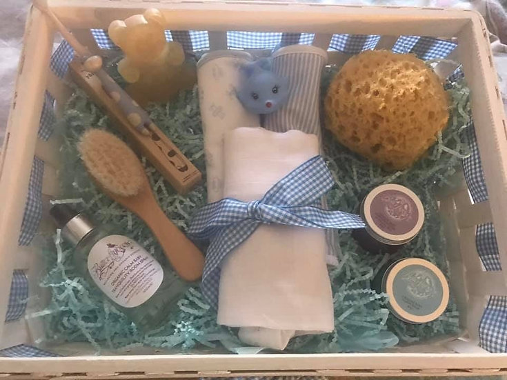 Baby boy and girl nurture hamper