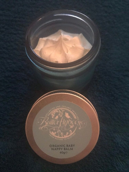 Baby organic nappy balm