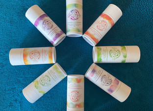 My deodorants are organic, natural, vegan, unisex and suitable for sensitive skin!