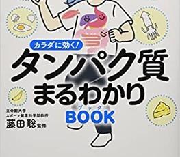 たんぱく質まるわかりブック(学研プラス)レシピ監修しました!