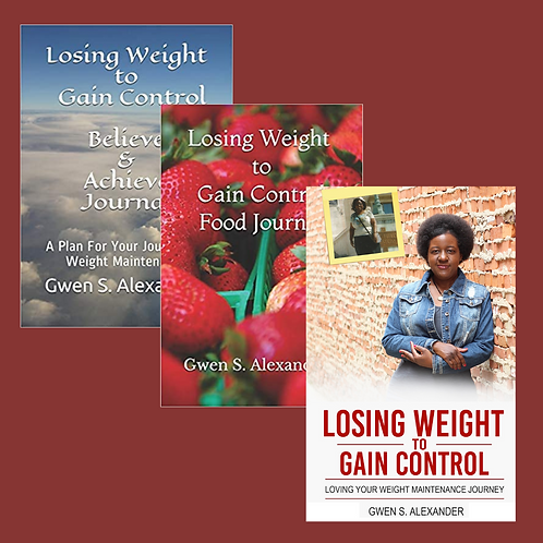 Losing Weight to Gain Control Three Book Bundle