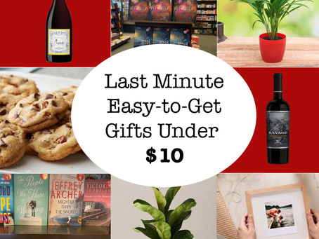 Last Minute, Easy-to-Get Gifts Under $10