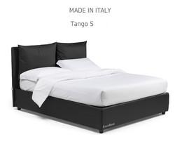 Tango s:מיטה מרופדת לחדר השינה דגם